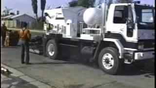 Pothole Repair using the patchmaster