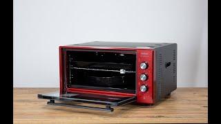 Arzum AR2034 Cookart Color 50 Lt Çift Camlı Fırın Ürün İnceleme