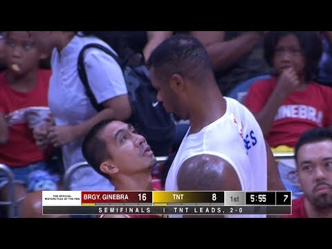 Tempers Flaring Early In Game 3 | PBA Commissioner's Cup 2019 Semifinals