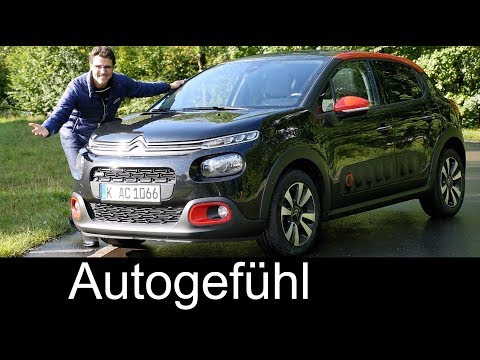 Citroen C3 FULL REVIEW test Shine Metropolitan PureTech 110- Autogefühl