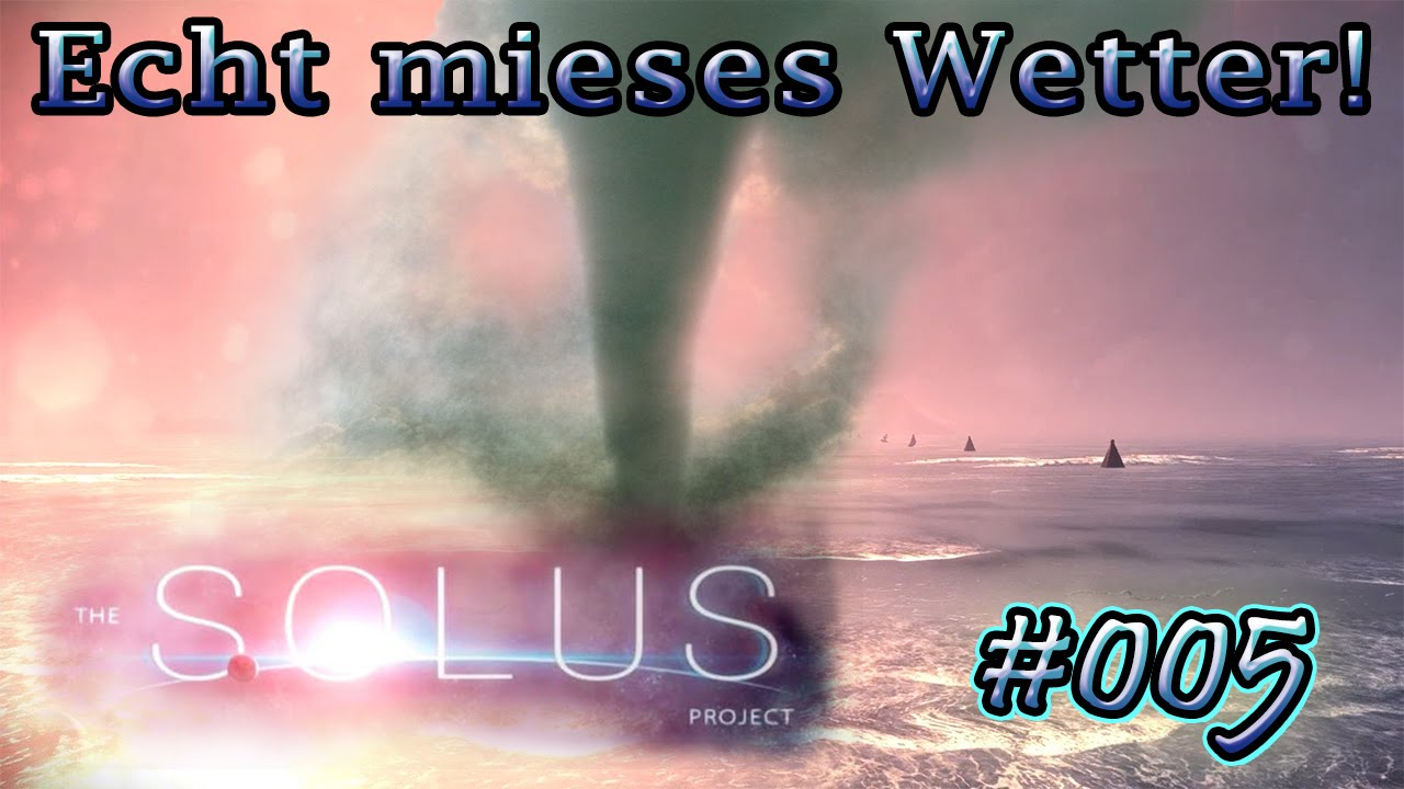 mieses wetter