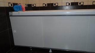 Монтаж раздвижного экрана под акриловую ванну(Установил раздвижной экран под акриловую ванну ничего сложного не было http://klyshko.ru/ekran-pod-vannu/ . Как я устанавли..., 2017-02-22T15:00:10.000Z)