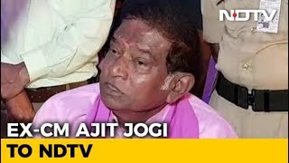 """Mayawati For PM, I Will Be Chief Minister Of Chhattisgarh"": Ajit Jogi"