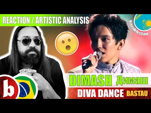 DIMASH Димаш! DIVA DANCE Bastau - Reaction Reação & Artistic Analysis (SUBS)