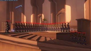 Overwatch: Infinite Bot Glitch