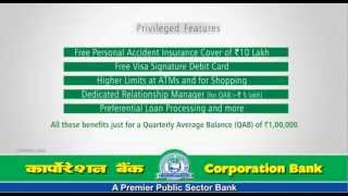Corp Signature -- Premium Savings Bank Account 30Sec English
