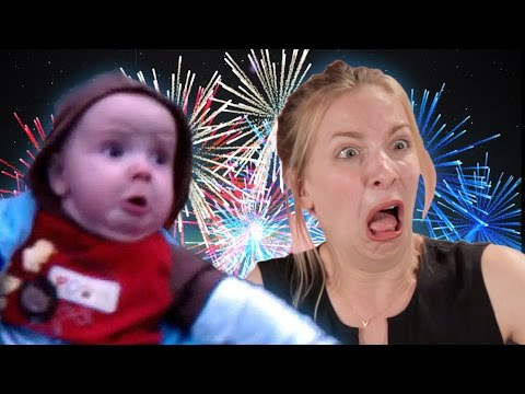 Adults Imitate Baby Seeing Fireworks For The First Time
