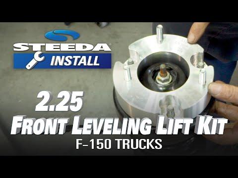 ReadyLIFT F-150 2.25'' Front Lift Kit, INSTALL