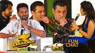 Salman Khan, Prabhu Deva, Sudeep, Dabangg 3 Superb Fun Interview   Dabangg3 Tamil  Press Meet