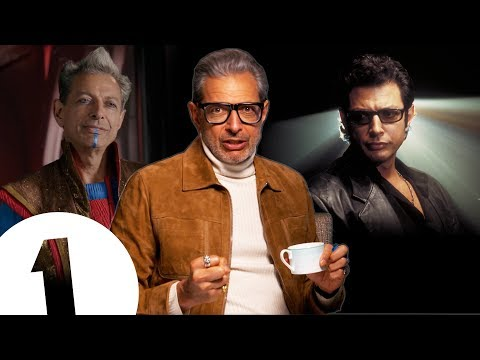 """Whenever you can, pound the table!"" Jeff Goldblum on his Jurassic Park acting tips."