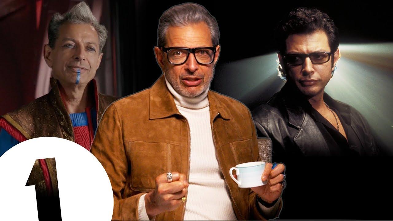 Jeff Goldblum turns around. Again.