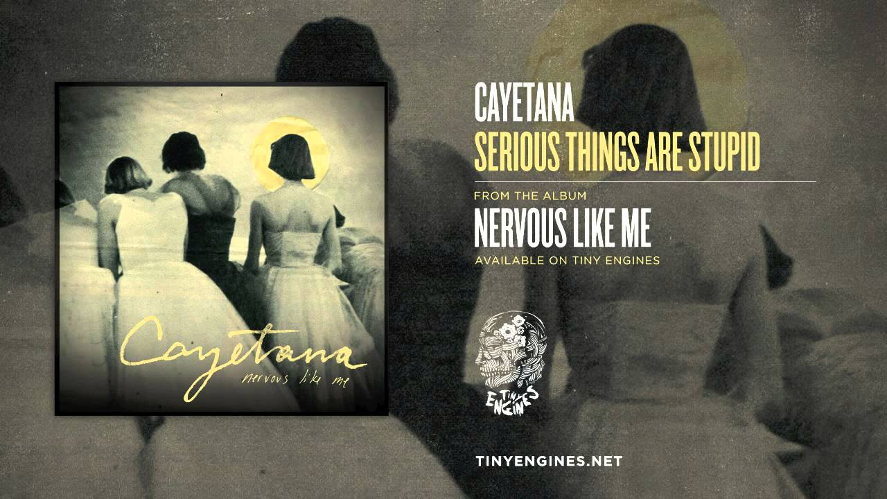 Cayetana Serious Things Are Stupid Youtube