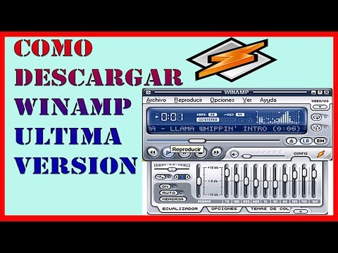 Como Descargar e Instalar Winamp Gratis Ultima Version - 2018