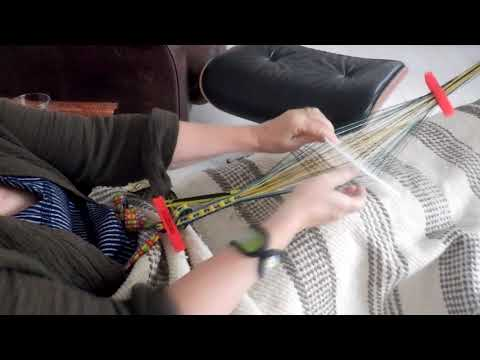 Sami Band Weaving - Weaving with a Sigga Heddle