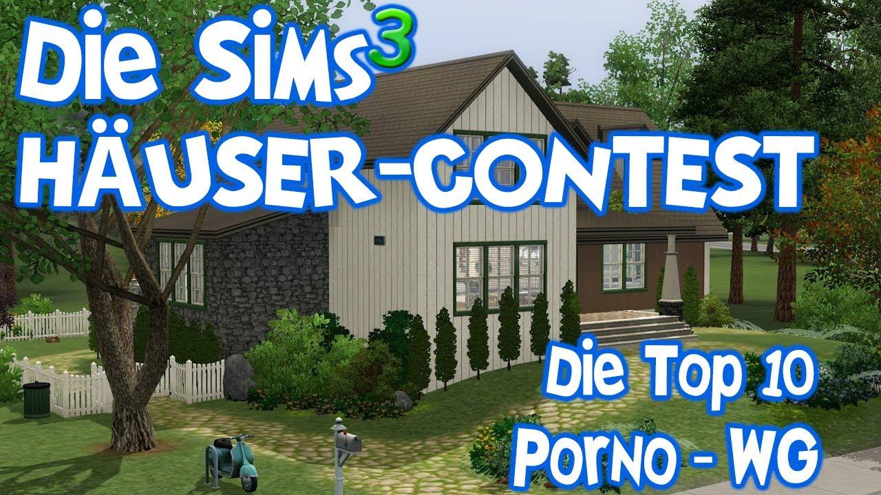 Die Sims Häusercontest Die Top Der Porno WG Häuser YouTube - Minecraft aubergewohnliche hauser