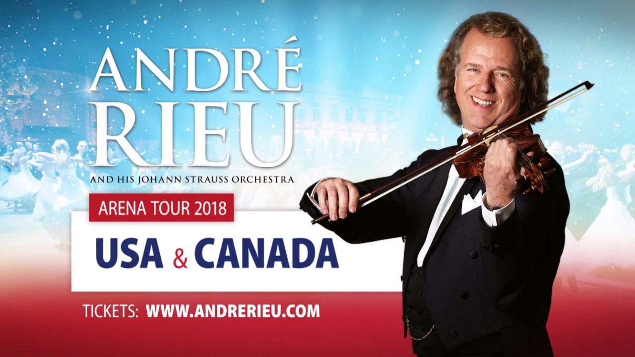 André Rieu back to USA & Canada