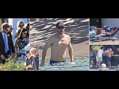 Prince Harry enjoys a dip in Jamaican ocean with Meghan