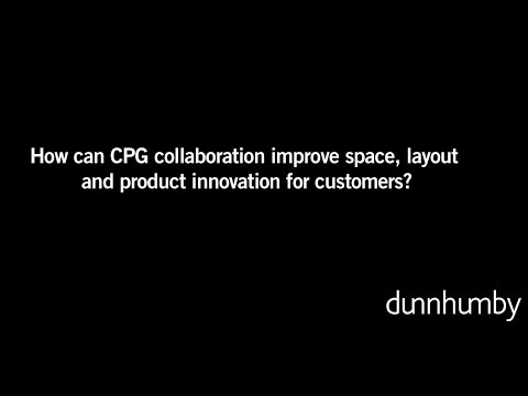 How can CPG collaboration improve space, layout and product innovation for customers?