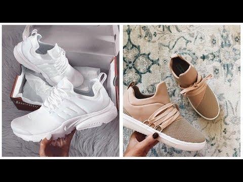 cdbfec32f sporty shoes for girls😘 احذية رياضية للبنات 😘- احذية سبورت - YouTube