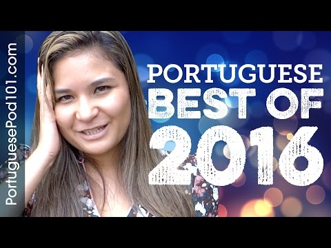 Learn Portuguese in 35 minutes - The Best of 2016