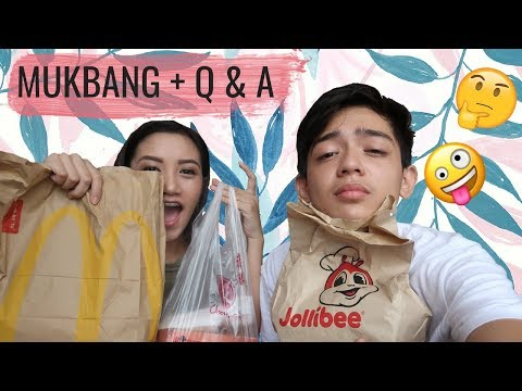 Mukbang and Q&A with Mark Reyes (Part 1) | Mayie Mapili