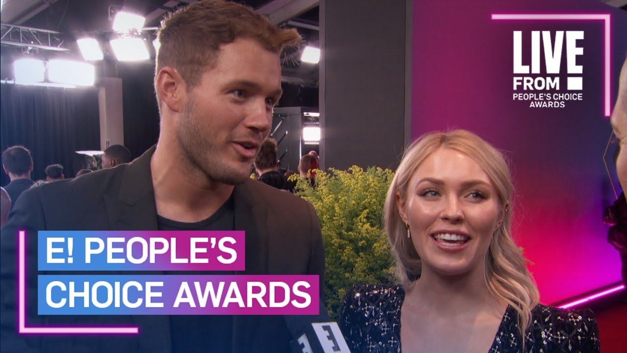 Colton Underwood Is Already a Winner With Cassie at 2019 E! PCAs