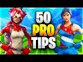 50 PRO TIPS TO BECOME A GOD AT FORTNITE All Advanced Tips Ultimate Guide Fortnite Battle Royale mp3