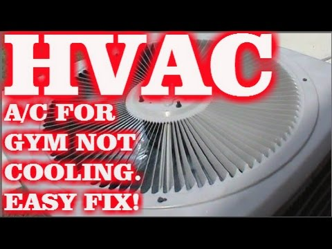HVAC: A/C IN GYM NOT WORKING (EASY FIX)