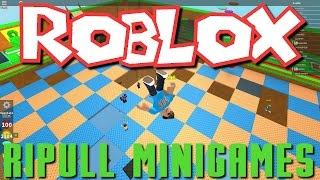 Greg, William, and Hailey Play Roblox - Ripull Minigames!
