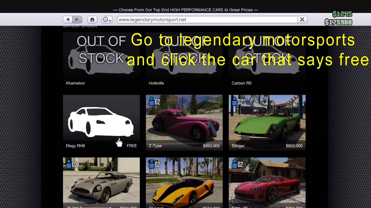 GTA 5 line How to Get Free Cars From your Phone tips and tricks