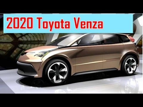 2020 Toyota Venza Redesign >> 2020 Toyota Venza Redesign Interior And Exterior