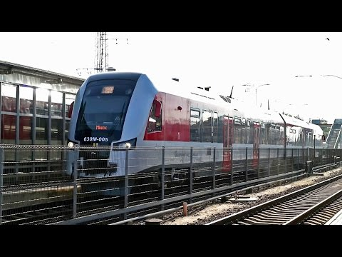 [G804] PESA 630M For Minsk | Vilnius Central Station , Lithuanian Railways