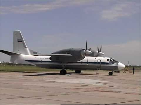Antonov An-32 from take off