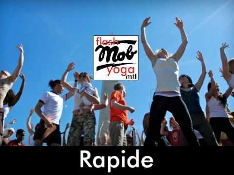 NOUVEAU! GRATUIT! Flash Mob Yoga à Montréal