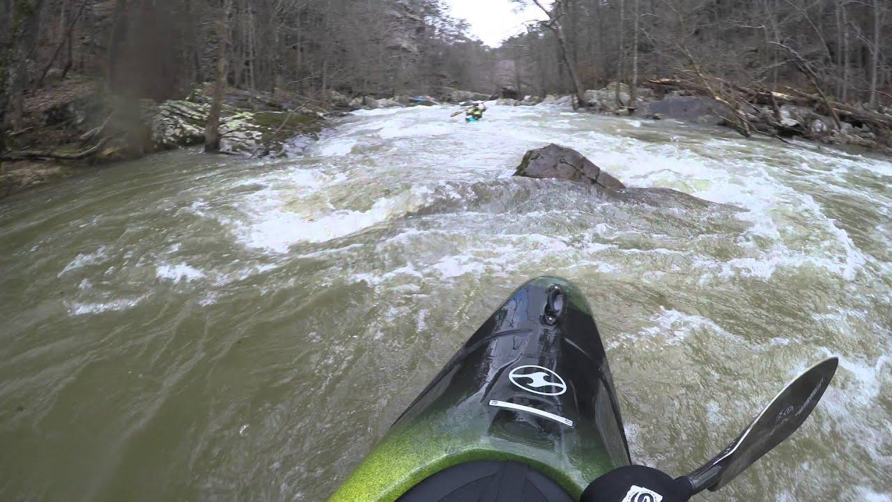 Blackburn Creek Whitewater Kayaking 45 Ft Carnageswim