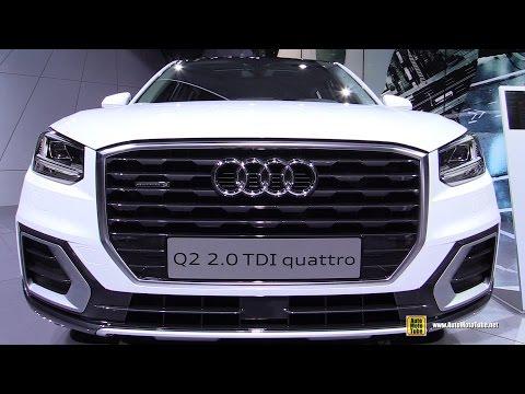 2017 Audi Q2 TDI Quattro - Exterior and Interior Walkaround - Debut at 2016 Geneva Motor Show