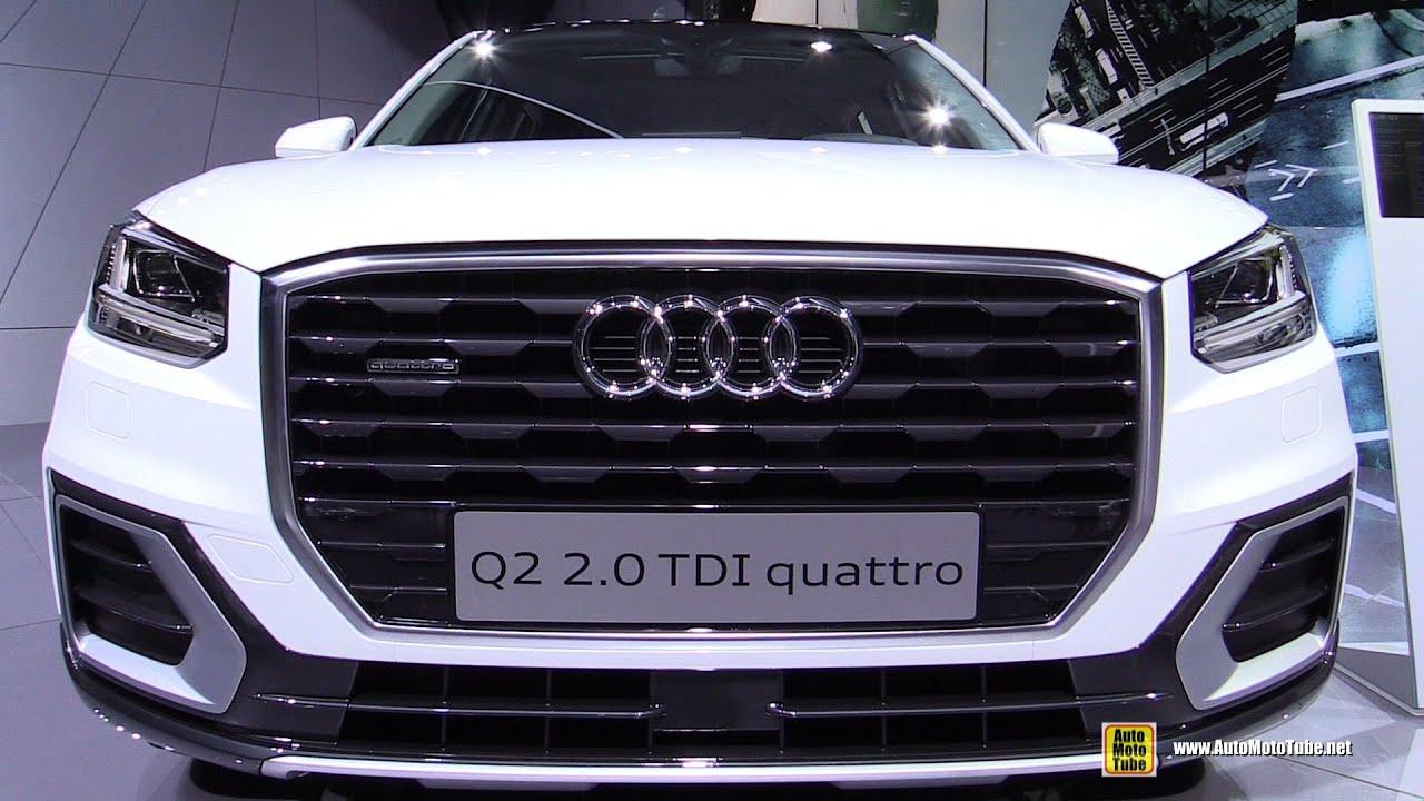 2017 Audi Q2 TDI Quattro Exterior and Interior Walkaround