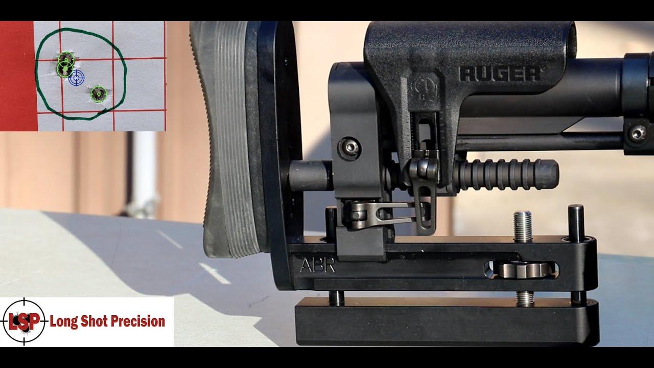 Long Shot Precision Adjustable Bag Rider, Ruger Precision