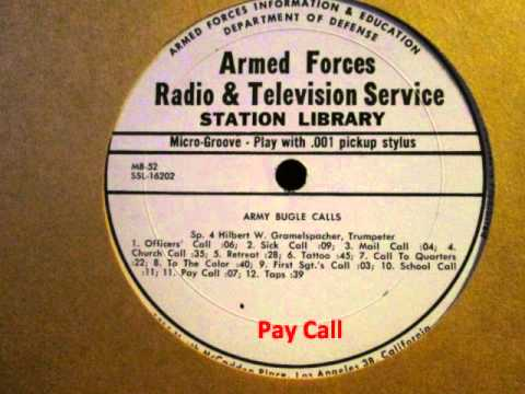 Army Bugle Calls (1964)