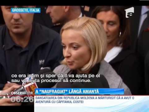 Dansatoarea din Republica Moldova a recunoscut ca a avut o aventura cu capitanul navei naufragiate C from YouTube · Duration:  2 minutes 13 seconds