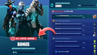 Fortnite: ENDLICH BONUS CHALLENGES ARE DA!! | Free skin stile!