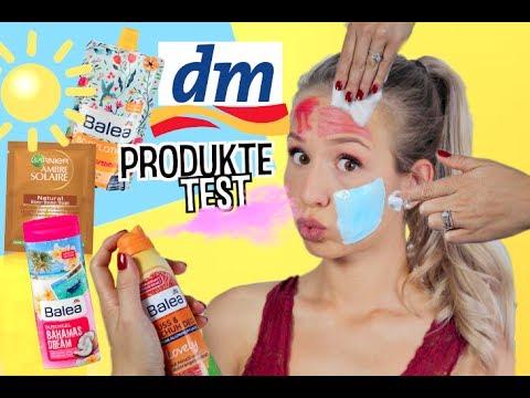 DM SOMMER PRODUKTE IM LIVE TEST