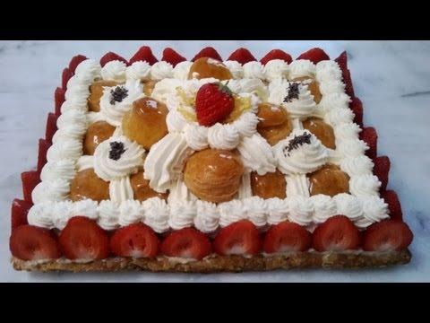 Le saint-honoré revisité à la fraise - ALP