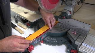 Woodworking Tools- Mitrebox Saws- Zero Clearance Tape