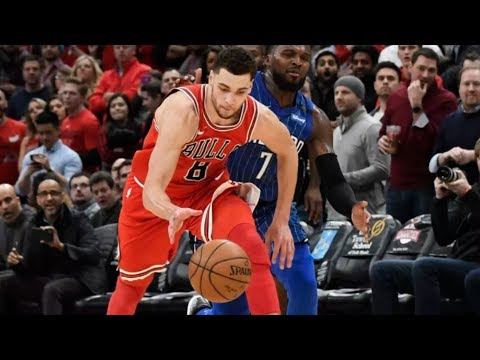 Holiday Turns Defender Around! LaVine Wins It Steal and Dunk! 2017-18 Season