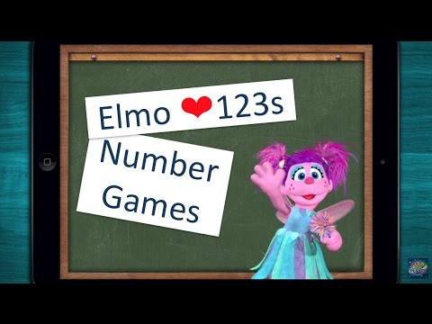 ∞ Elmo Loves 123s - Teach your child about numbers and counting - [Number Games]