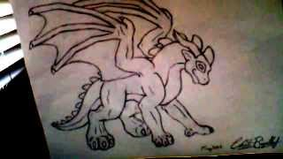 How to draw Saphira EASY!