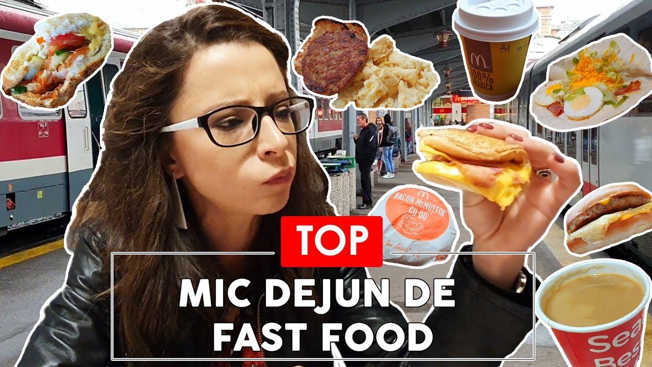 MCDONALD'S, KFC sau SUBWAY - TOP MIC DEJUN - Fast Food Test