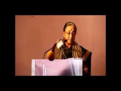 JJS 2013 (Smt. Margaret Alva's speech at the inaugural day)