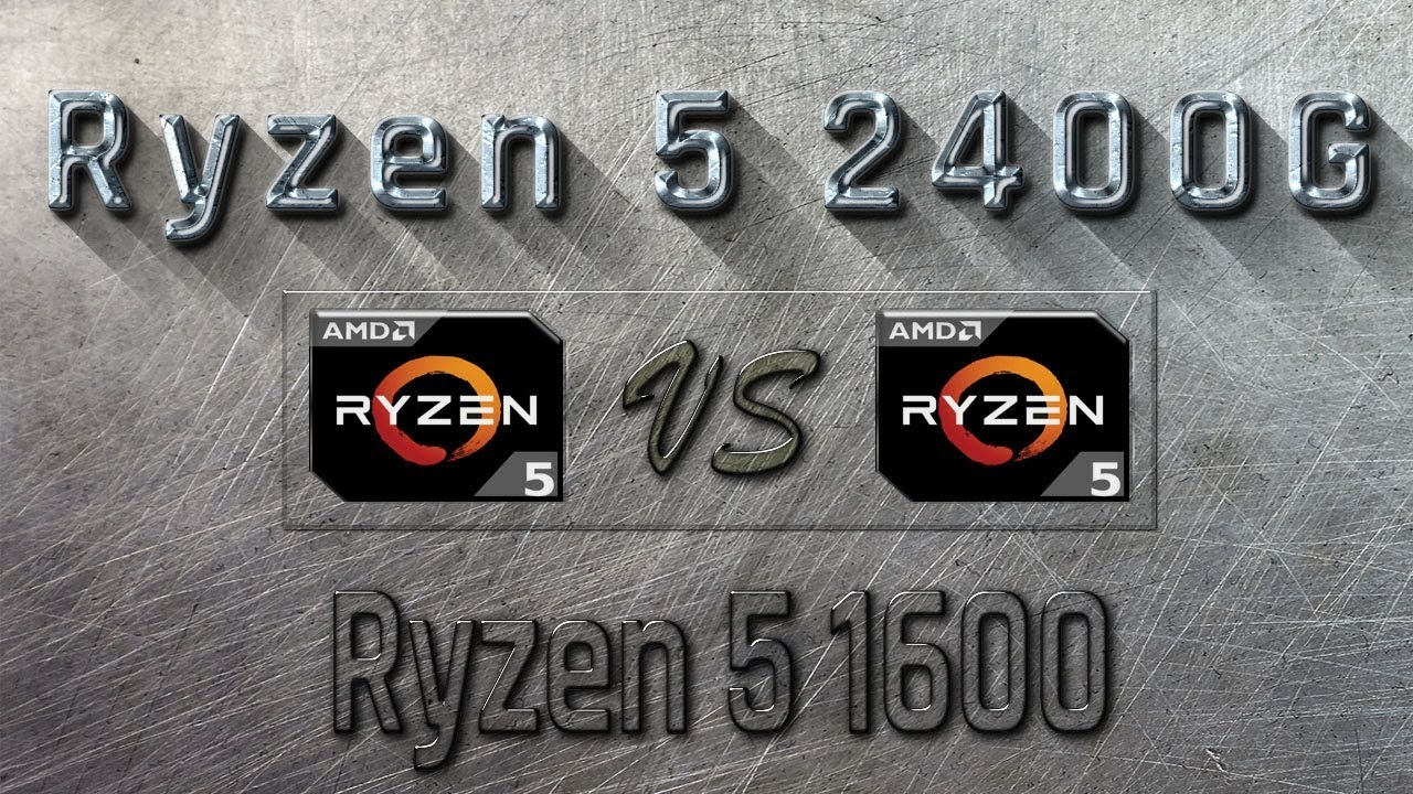 RYZEN 5 2400G vs Ryzen 5 1600 - BENCHMARKS / GAMING TESTS REVIEW AND  COMPARISON /